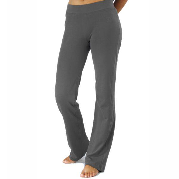 straight jersey pant organic pima cotton slowfashion quality taupe grey