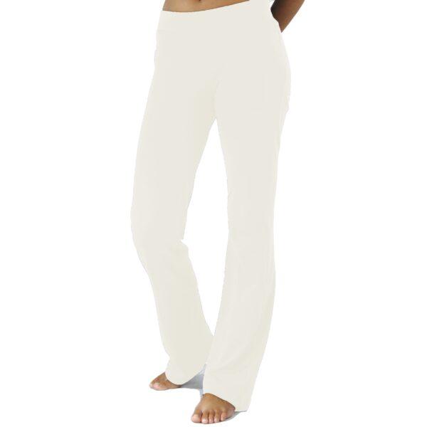 straight jersey pant organic pima cotton slowfashion quality sand