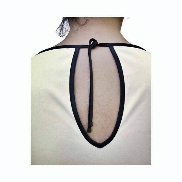 Short Sleeve Dress in Organic Pima