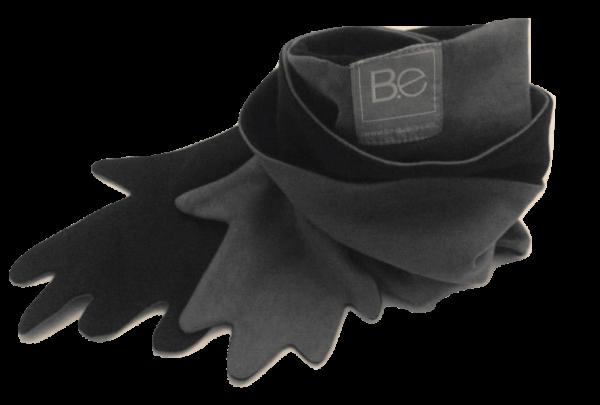 hug scarf organic pima cotton slowfashion quality black grey taupe