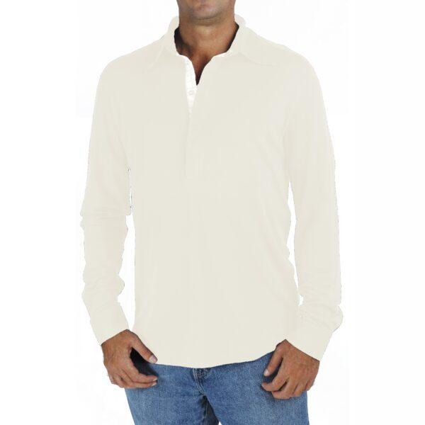 Men Polo Shirt in Organic Pima Cotton