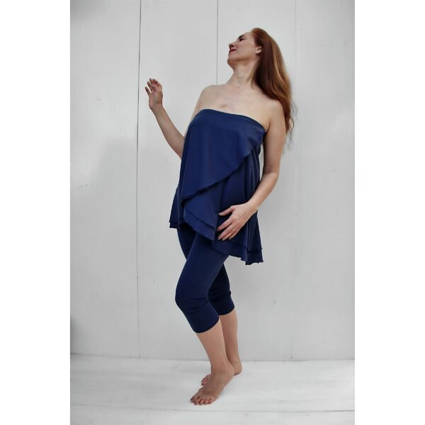 Top - Skirt in Organic Pima Cotton