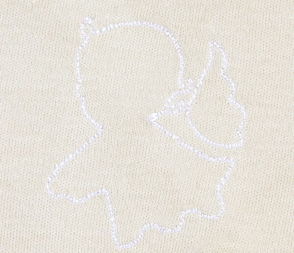 Newborn Long Sleeve TShirt in Organic Pima