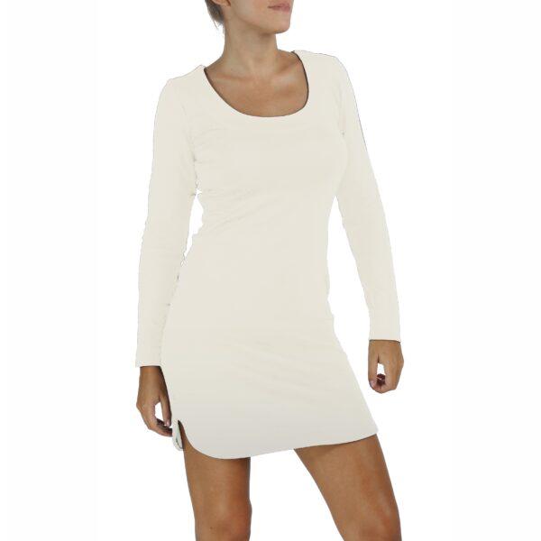 Sheath Dress in Organic Pima Cotton