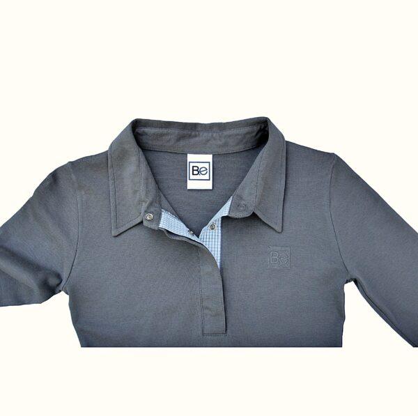 Polo Dress in Organic Pima Cotton