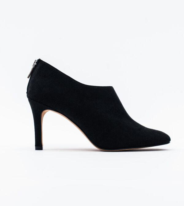 Olivia Black Vegan Suede Shoeboot