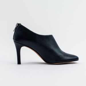Olivia Black Vegan Leather Shoeboot