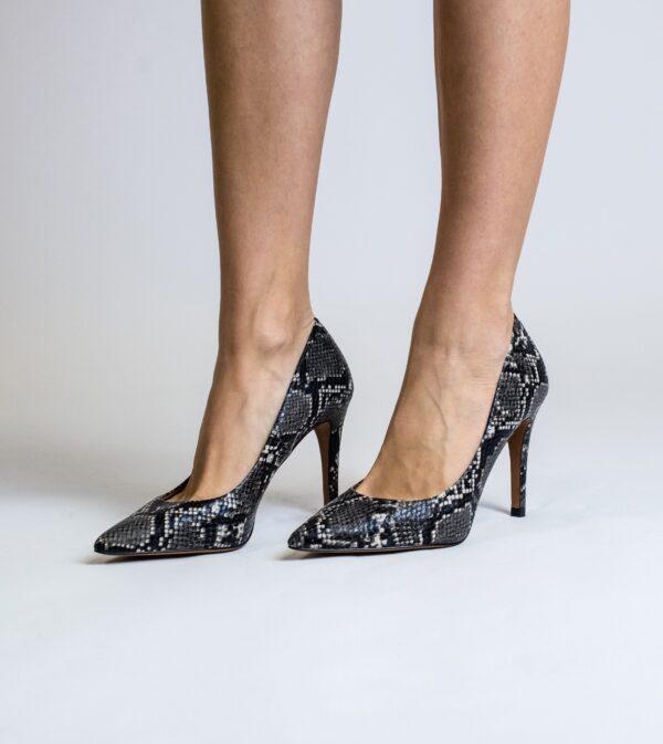 Sophie Vegan Skin Effect Stiletto Court