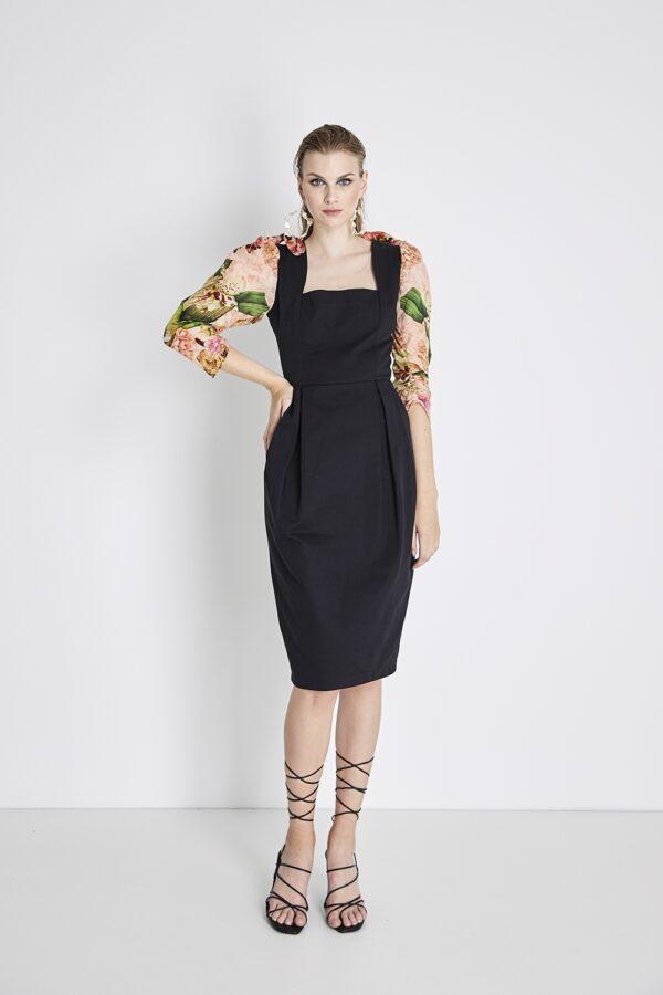 ORGANIC CHIC PARROT DRESS