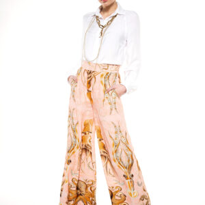 OCTOPUS WOOD PALAZZO TROUSERS