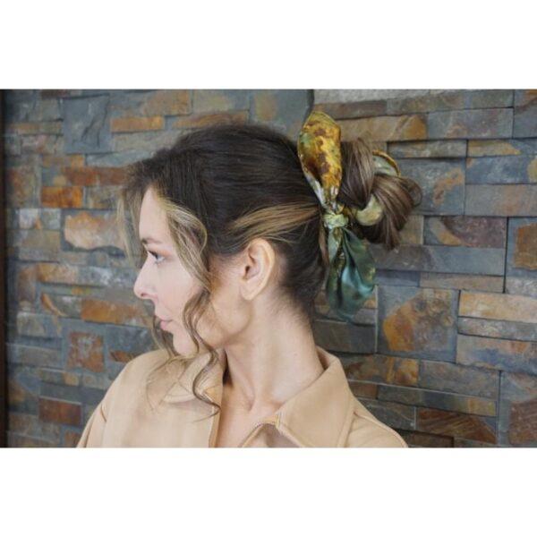 'Autumn Leaves' Silk Scarf