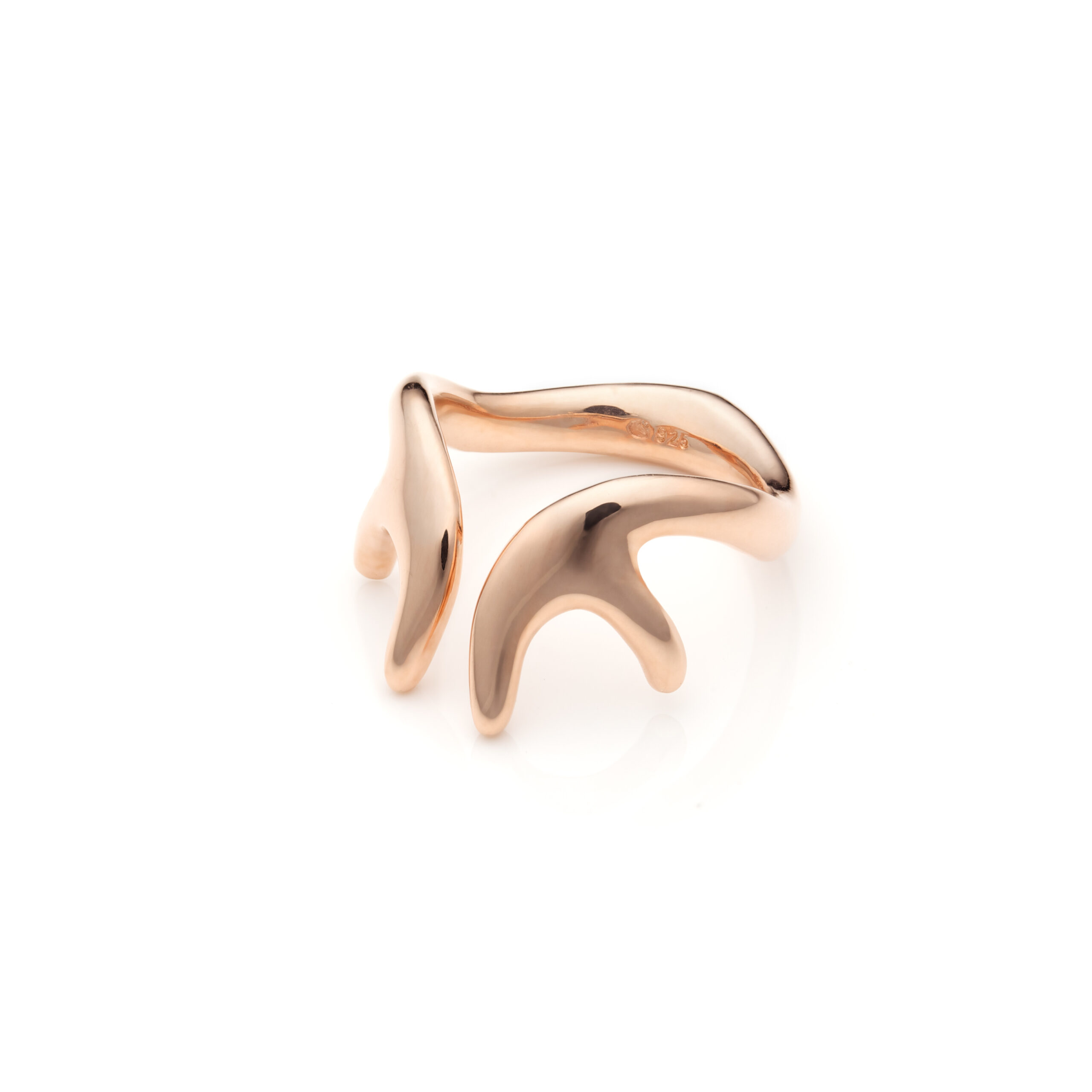 Antlers Mini Ring Golden