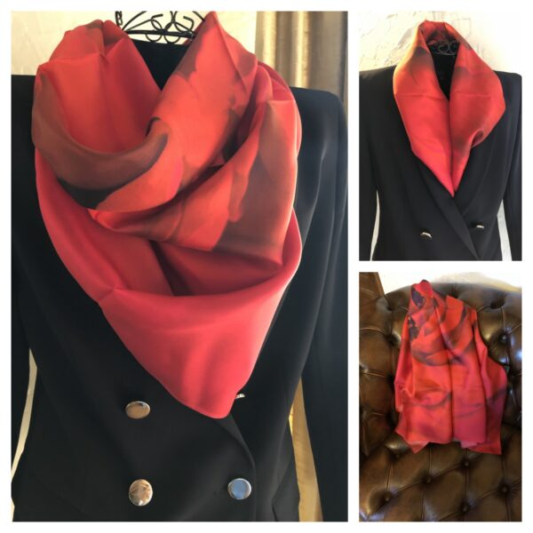 'Whisper of passion' luxury scarf