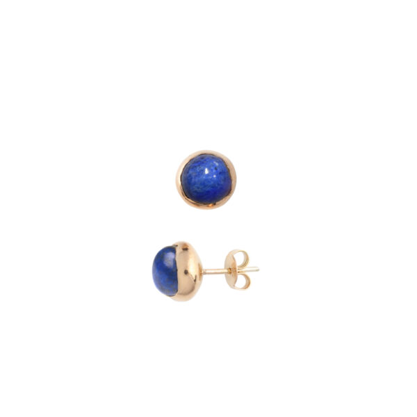 BLOSSOM Bud earrings with lapis