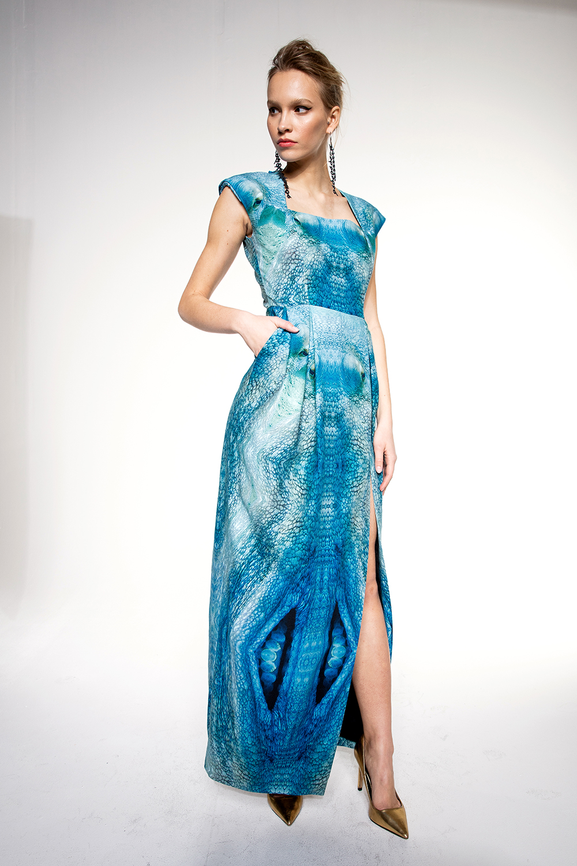 OCTOPUS ORGANIC LONG DRESS