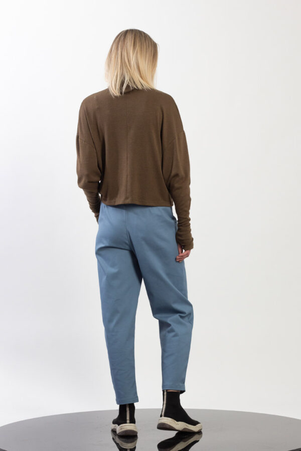 High waist Pants with patch pockets