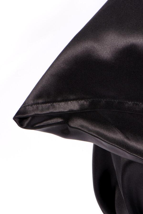 Silk Black Duvet Cover