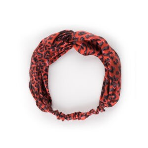 SIlk Leopard Headband