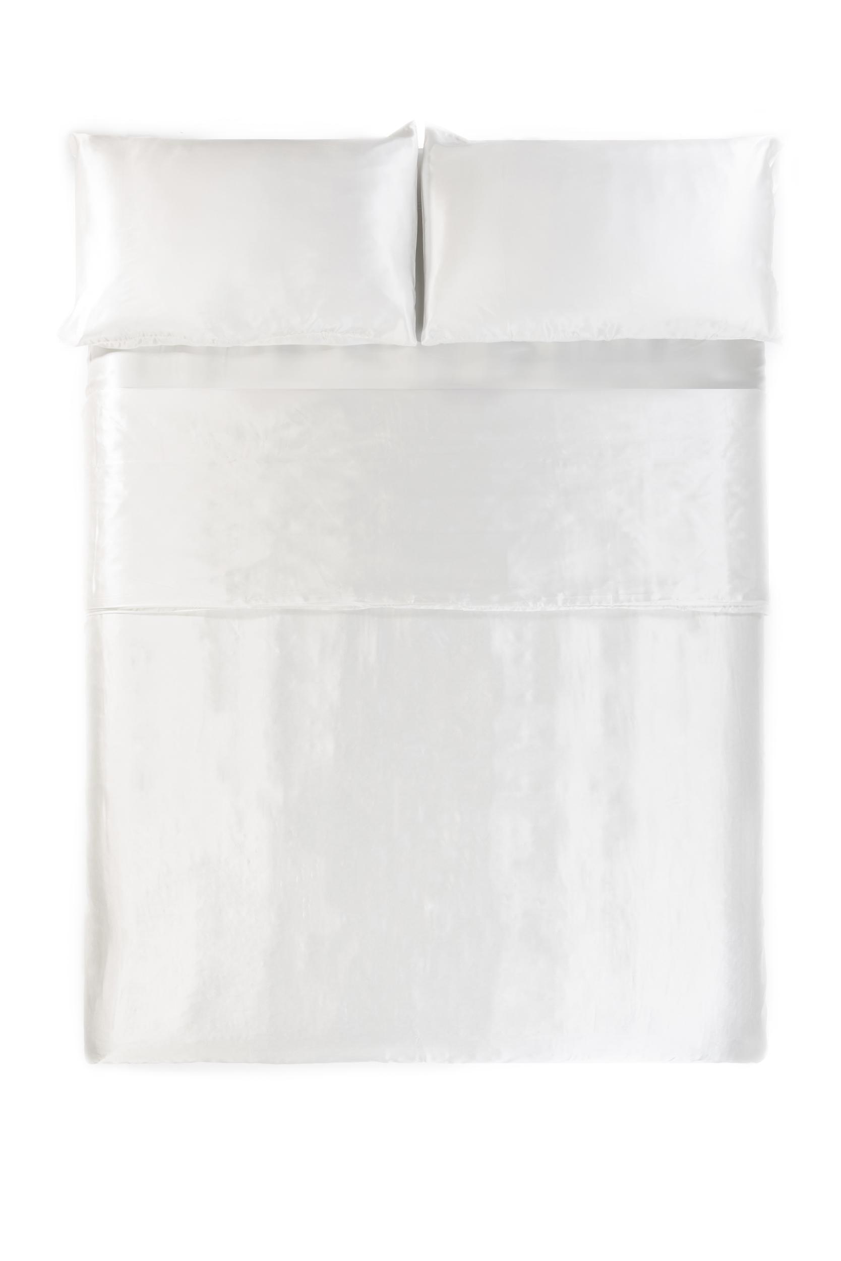 Silk White Duvet Cover