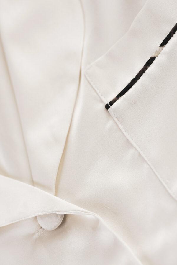 Protein Silk Pajamas Shirt