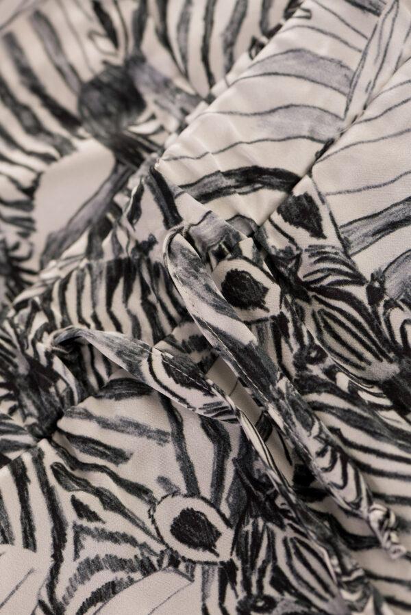 """Kids Sleepwear Pants """"White Zebra"""" Print"""