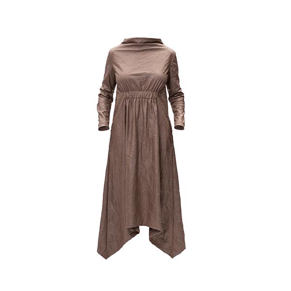 Bronze Midi Dress