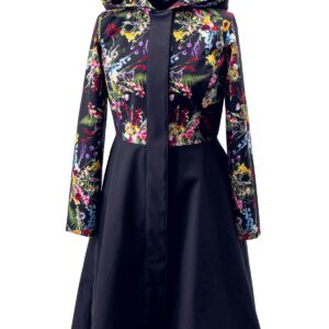 Hooded Long Women's Overcoat product photo