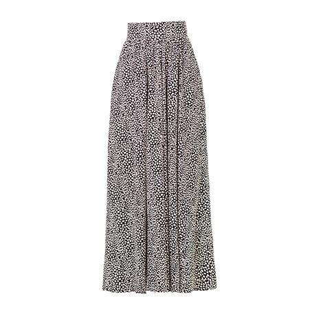 Polka Dot Long Skirt Jersey